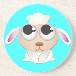 Cute cartoon Sheep Coaster