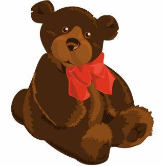 Cute cartoon teddy bear photo cutout