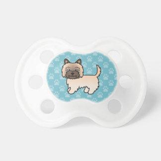 Cute Cartoon Wheaten Cairn Terrier BooginHead Pacifier