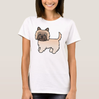 Cute Cartoon Wheaten Cairn Terrier T-Shirt