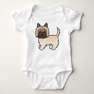 Cute Cartoon Wheaten Cairn Terrier T Shirts