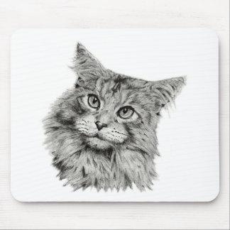 Cute Cat Art Mousepad