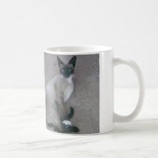 Cute cat cup basic white mug