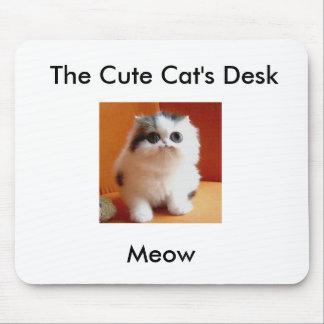 Cute Cat Desk Mouse Pad