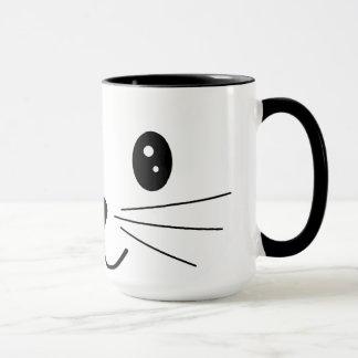 Cute Cat Face.
