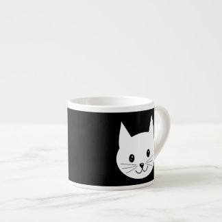 Cute Cat Face. Espresso Mug