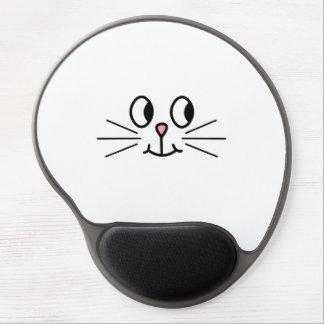 Cute Cat Face. Gel Mouse Pad