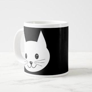 Cute Cat Face. Jumbo Mug