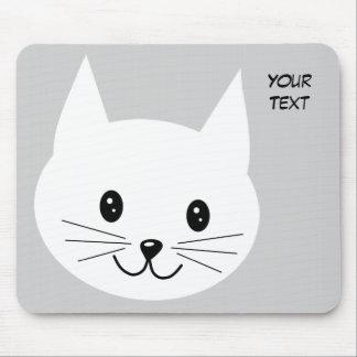 Cute Cat Face. Mousepad