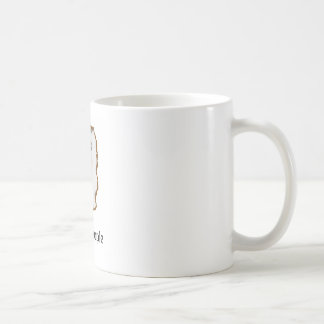 cute cat, I hate people Coffee Mugs