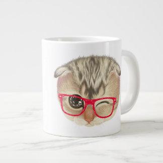 Cute Cat Jumbo Coffee Mug Jumbo Mug