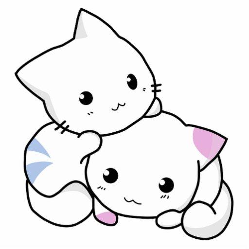 Cute Cat Kitten Pet Peace Love Photo Cutout