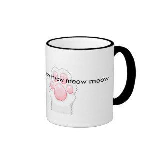 Cute cat paws mug