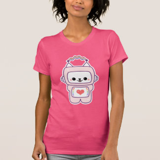 Cute Cat Robot T-Shirt