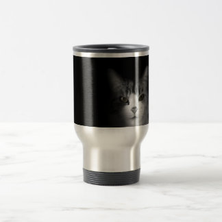 Cute Cat Stainless Steel Travel Mug