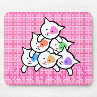 CUTE CATS MOUSE PAD