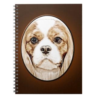 Cute Cavalier King Charles Spaniel Notebook