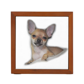 Cute Chihuahua Desk Organizer