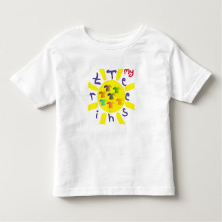 Cute children's drawing in crayon toddler T-Shirt