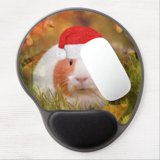 cute christmas guinea pig gel mouse pad