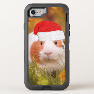 cute christmas guinea pig OtterBox defender iPhone 8/7 case