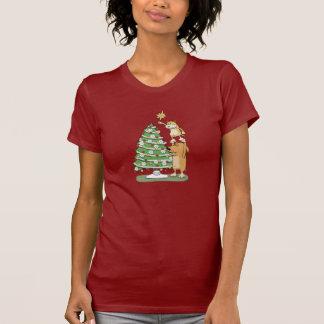 Cute Christmas shirt: Cat and Dog T-Shirt