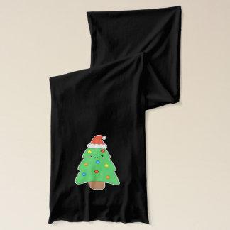 Cute Christmas Tree Scarf