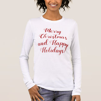 Cute Christmas wishes Long Sleeve T-Shirt