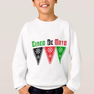 Cute Cinco De Mayo Flag Gift Sweatshirt