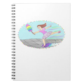 Cute Cleaning Lady Notebook