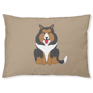 Cute Collie Dogbed