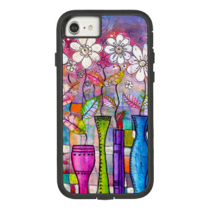 Cute Colorful Flower Drawing Case-Mate Tough Extreme iPhone 8/7 Case