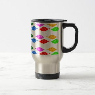 Cute_colorful_leaves_patterns Mugs