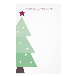 Cute & Country Christmas Stationery