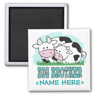 Cute Cows Big Brother Magnet