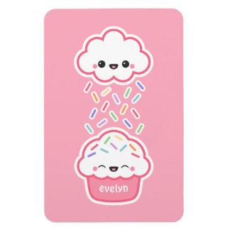 Cute Cupcake with Sprinkles Magnet