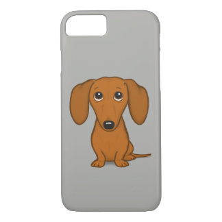Cute Dachshund | Cartoon Wiener Dog iPhone 8/7 Case