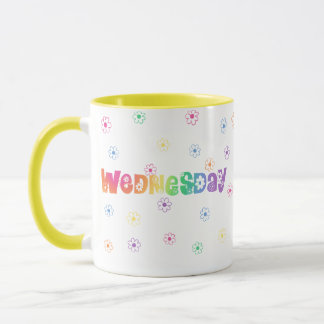 Cute Day Of The Week Wednesday Mug
