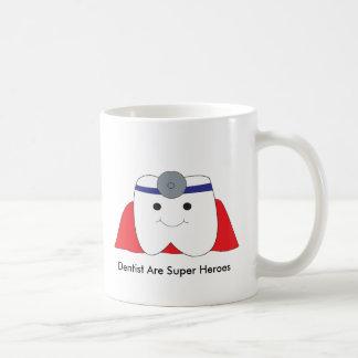 Cute Dentist Are Super Heroes Customizable Coffee Mug