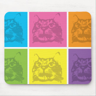 Cute design featuring cats mouse pad