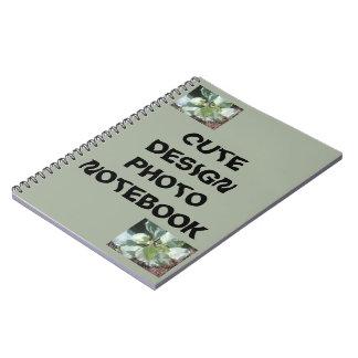 Cute design photo notebook