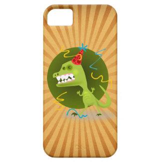 Cute Dinosaur iPhone 5 Case Green Birthday Dino