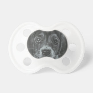 Cute dog baby pacifiers