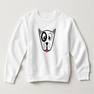 Cute Dog Face Sweatshirt