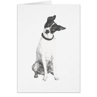 Cute Dog Friendship Card
