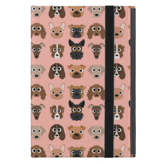 Cute Dogs on Pink Case For iPad Mini