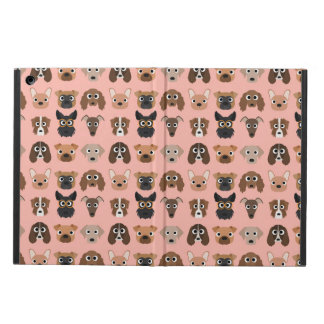 Cute Dogs on Pink iPad Air Cases