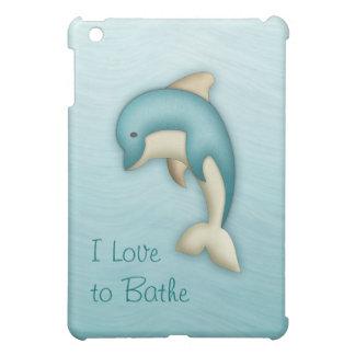 Cute Dolphin Monogram Speck Case iPad Mini Case
