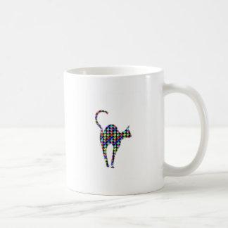 CUTE dot painted CAT pet animal NVN86 NavinJOSHI Coffee Mug