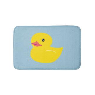 Cute Duck Baby Blue Bath Mat